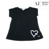 Памучна блуза с къс ръкав за момиче Armani 50647