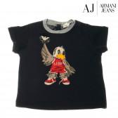 Памучна блуза с къс ръкав за бебе момиче Armani 50656