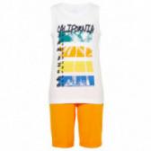 Комплект от памучни потник и къс панталон за момче Name it 50804