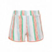 Къси панталони от органичен памук за момиче Name it 51017