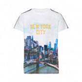 Тениска от органичен памук за момче Name it 51022