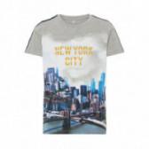 Тениска от органичен памук за момче Name it 51029