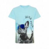 Тениска от органичен памук за момче Name it 51041
