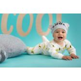 Памучна шапка с ушички за бебе Pinokio 52719 2