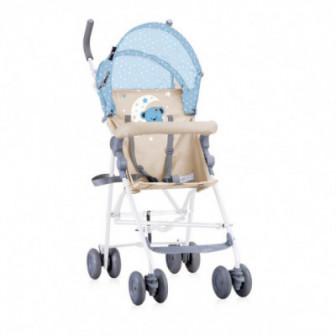 лятна количка LIGHT Blue&Beige MOON BEAR за момче Lorelli 53793