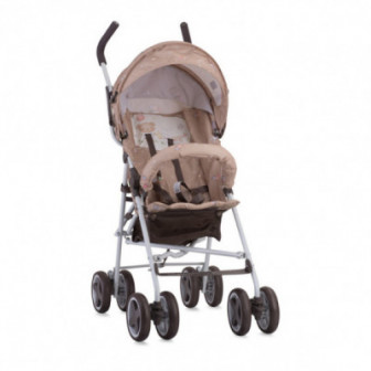 детска количка TREK Beige BEAR PARTY унисекс Lorelli 53804
