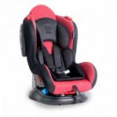 Стол за кола с регулиране на облегалката jupiter+sps red&amp, black Lorelli 53844