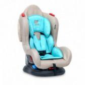 Стол за кола с регулиране на облегалката jupiter+sps beige&green stars унисекс Lorelli 53846