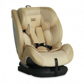 стол за кола с регулиране на облегалката RIALTO Isofix BEIGE унисекс Lorelli 53849