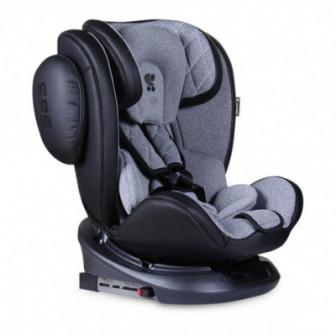 стол за кола с регулиране на облегалката AVIATOR SPS Isofix Black&Light GREY унисекс Lorelli 53852