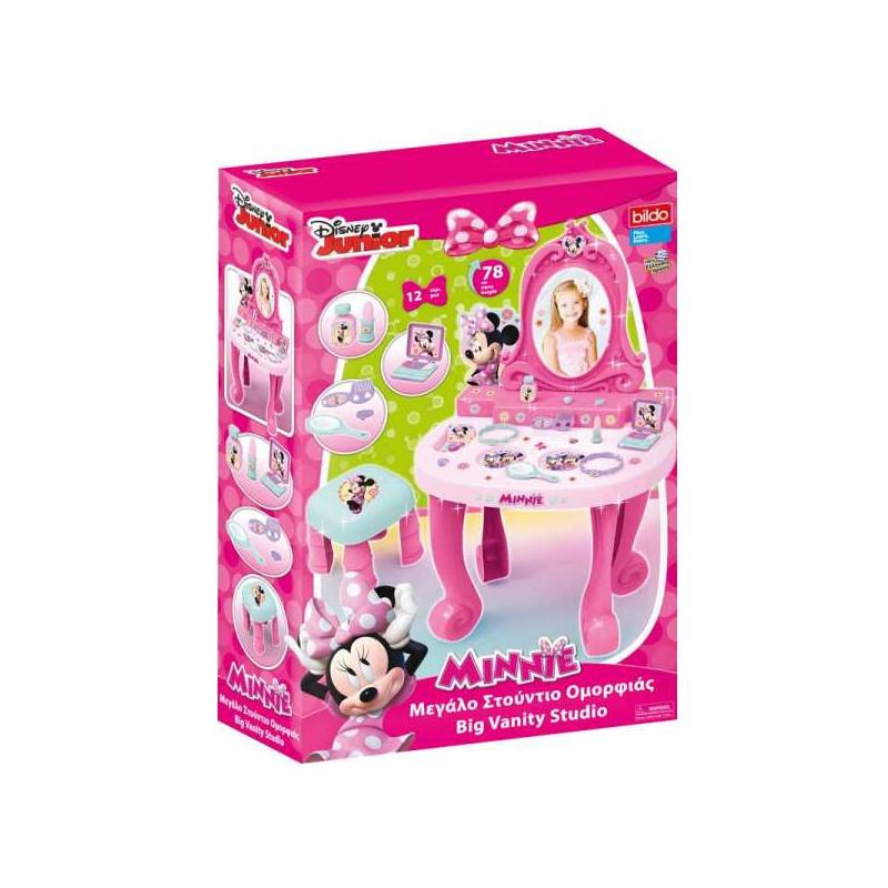 Тоалетка с огледало и столче Minnie  53954