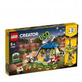 Конструктор Въртележка на панаира 595 части Lego 53976