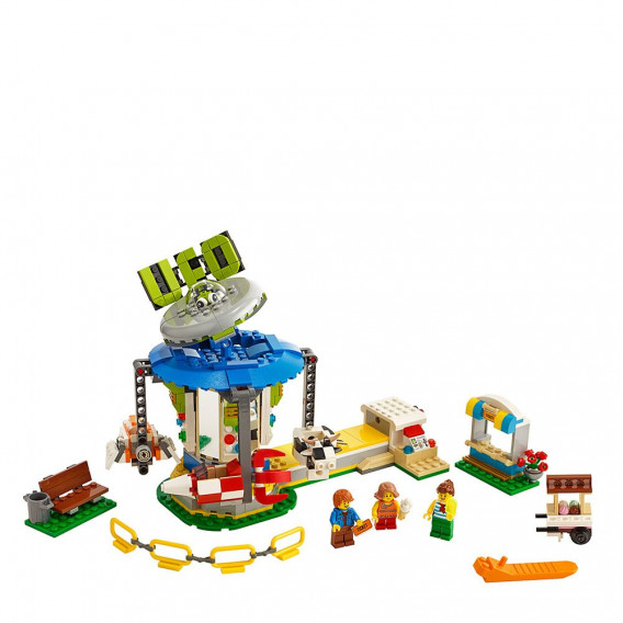 Конструктор Въртележка на панаира 595 части Lego 53977 2