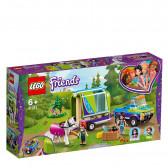 Лего френдс - ремаркето за кон на mia за момиче Lego Friends 53986
