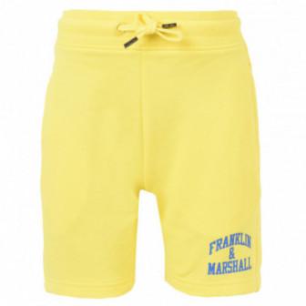 къси памучни панталони за момче Franklin & Marshall 54091