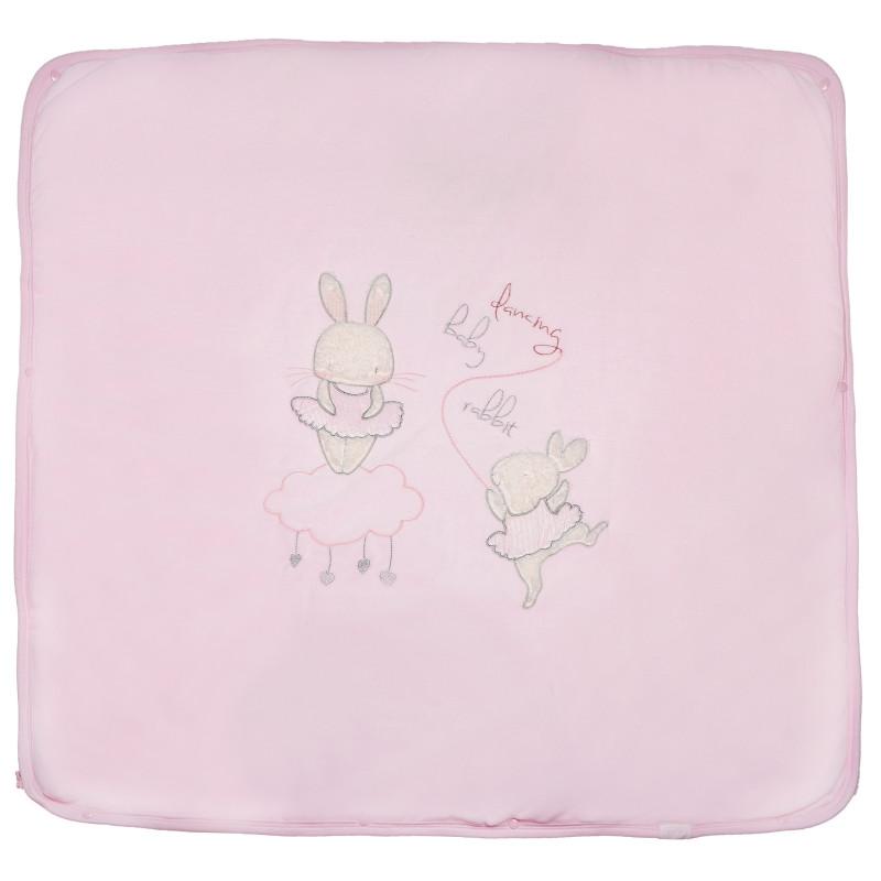 Плюшено одеяло порт за бебе момиче  54467
