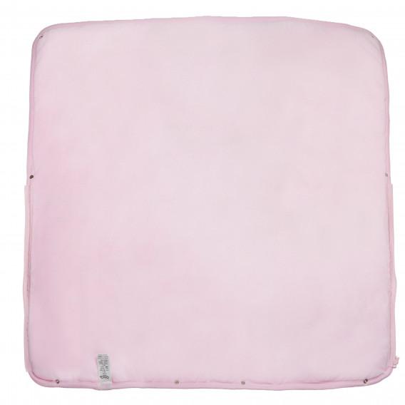 Плюшено одеяло порт за бебе момиче Bebetto 54468 2