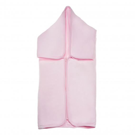 Плюшено одеяло порт за бебе момиче Bebetto 54469 3