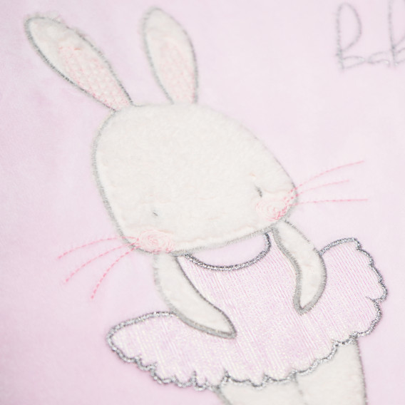 Плюшено одеяло порт за бебе момиче Bebetto 54471 5