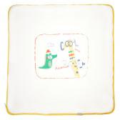 Памучна унисекс пелена порт за бебе Bebetto 54487