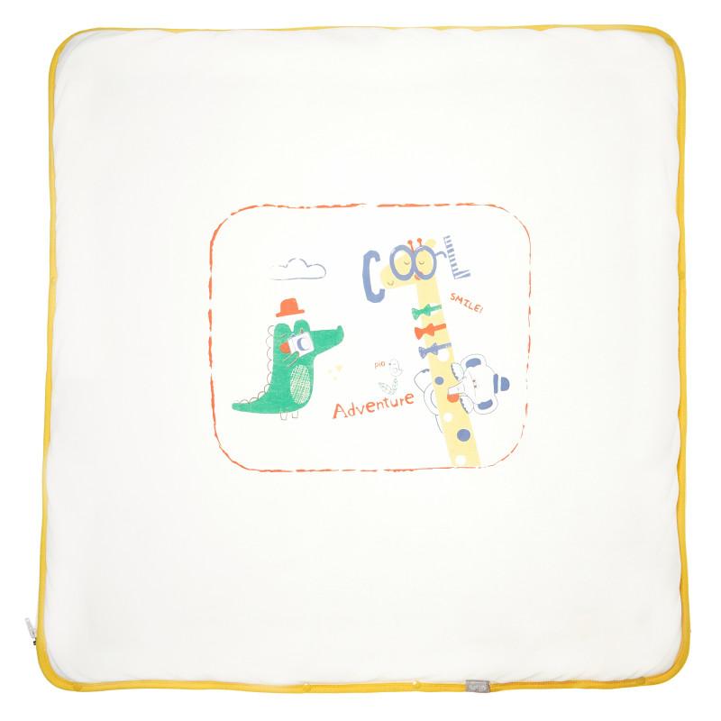 Памучна унисекс пелена порт за бебе  54487