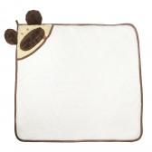 Памучна  хавлия с качулка за бебе - унисекс Bebetto 54557