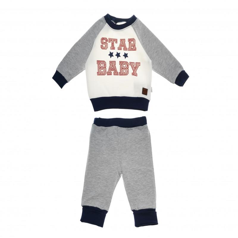 Спортен комплект STAR BABY за момче  54764
