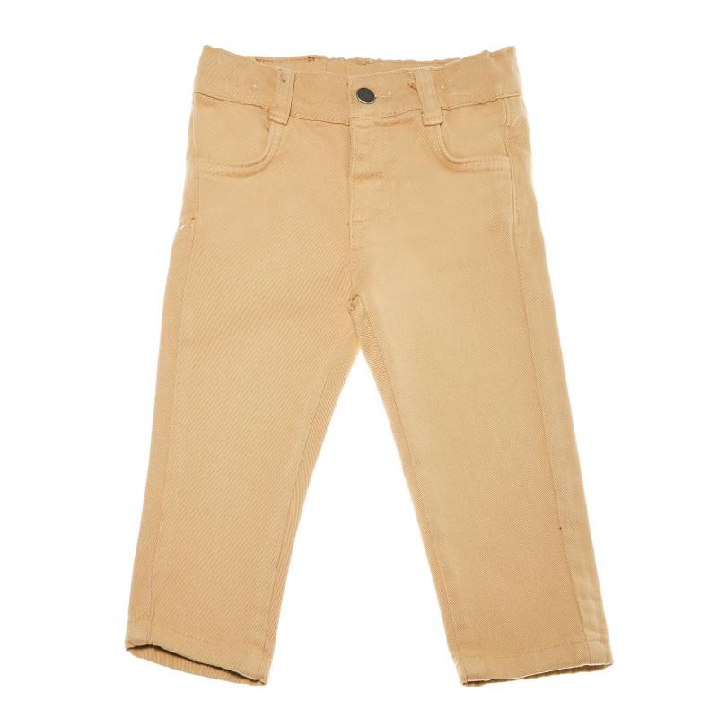Панталон от памук и еластан за бебе - унисекс  54833