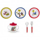 Бебешки комплект за хранене BebeDue 56403 2