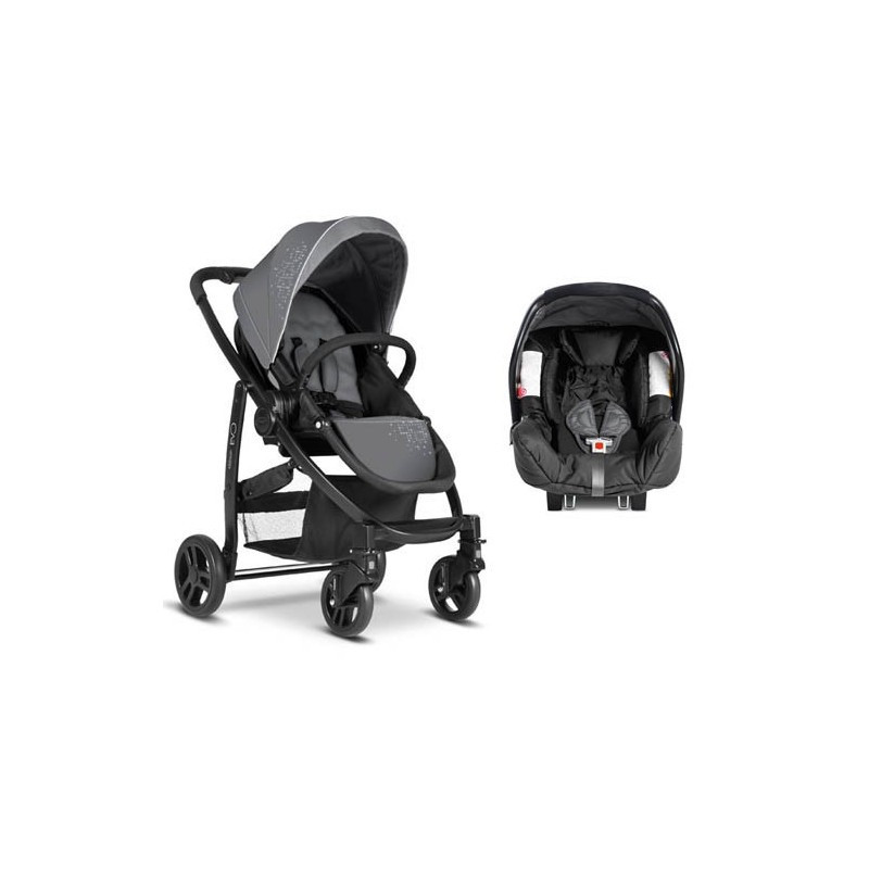 Комбинирана детска количка EVO TS Charcoal 2 в 1  5650