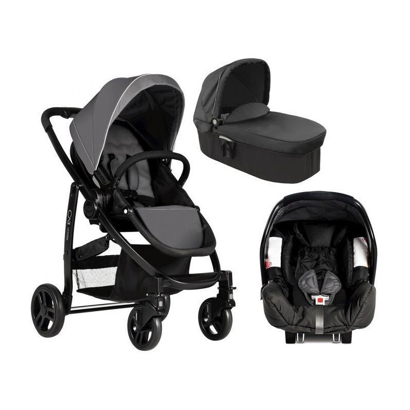 Комбинирана детска количкаEVO Trio Charcoal 3 в 1  5653