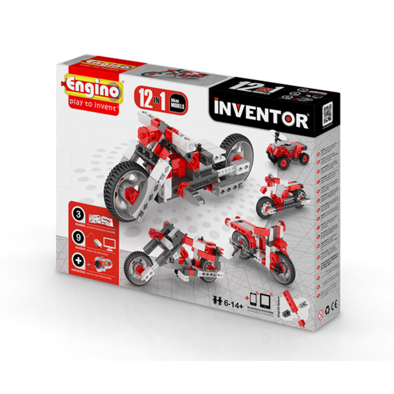 Конструктор - 12 модела мотоциклети над 20  5669