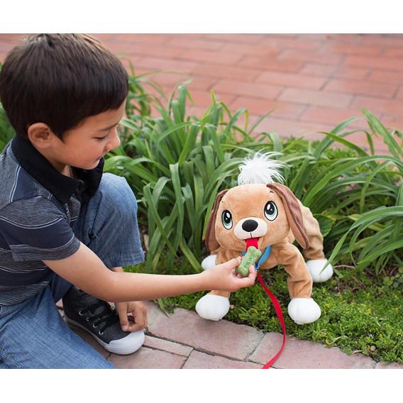 Домашен любимец за разходка - кафяво кученце 27х27х35 см  5680 2