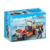 Плеймобил - пожарникарско атв Playmobil 5709