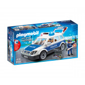 Плеймобил - полицейска кола със звук и светлини Playmobil 5725