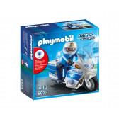 Плеймобил - полицейски мотор с led светлина Playmobil 5729