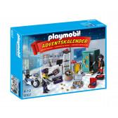 Плеймобил - коледен календар полицейска операция Playmobil 5737