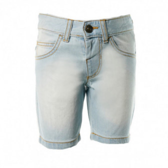 къс дънков панталон за момче Benetton 58153