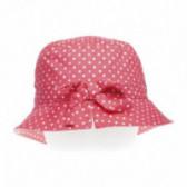 Памучна лятна шапка за момиче Benetton 58348