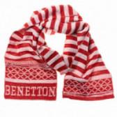 Плетен шал за момче Benetton 58435