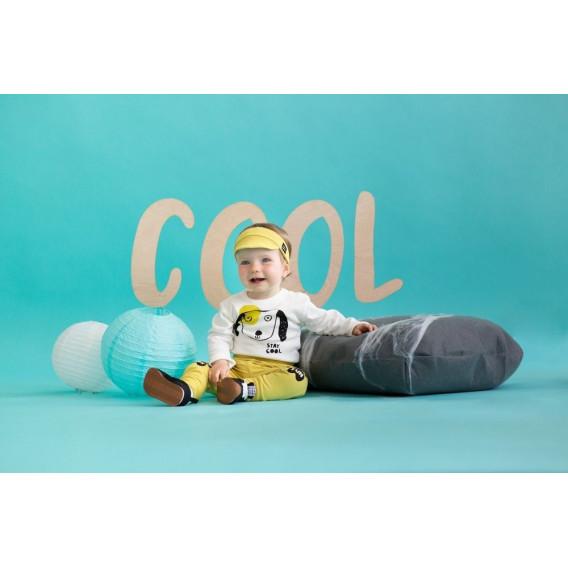 Памучни меки буйки за бебе с жълта памучна подплата   - унисекс Pinokio 58743 4