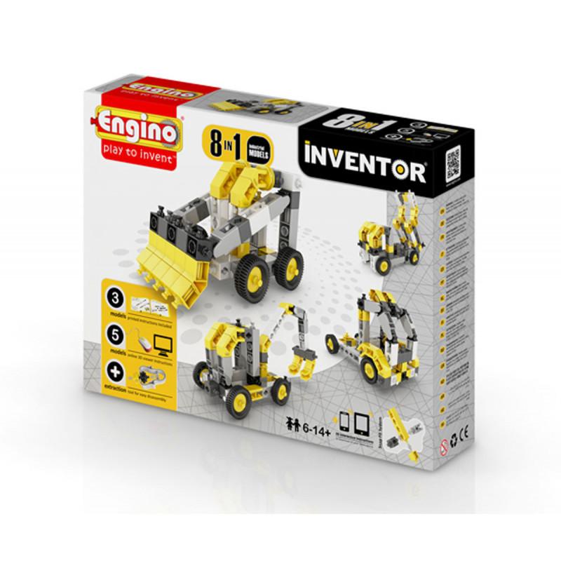 Конструктор - 8 модела индустриални машини над 20  5900
