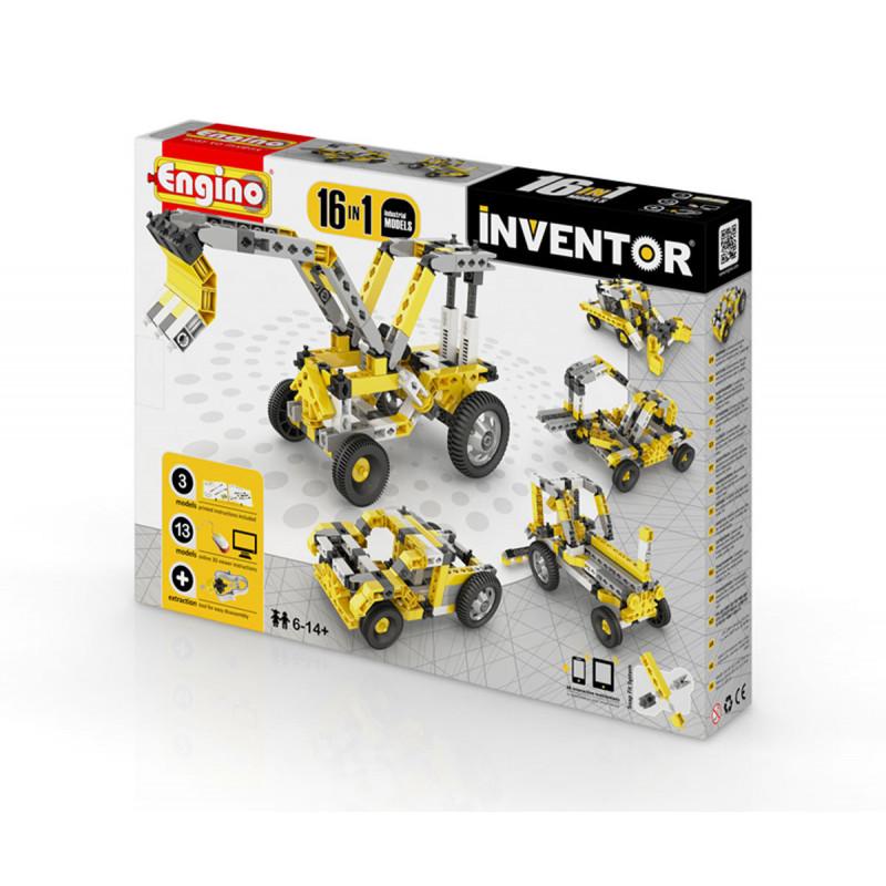Конструктор - 16 модела индустриални машини над 20  5912