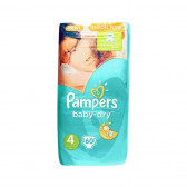 Еднократни пелени размер: 4, 60 бр. Pampers 59844
