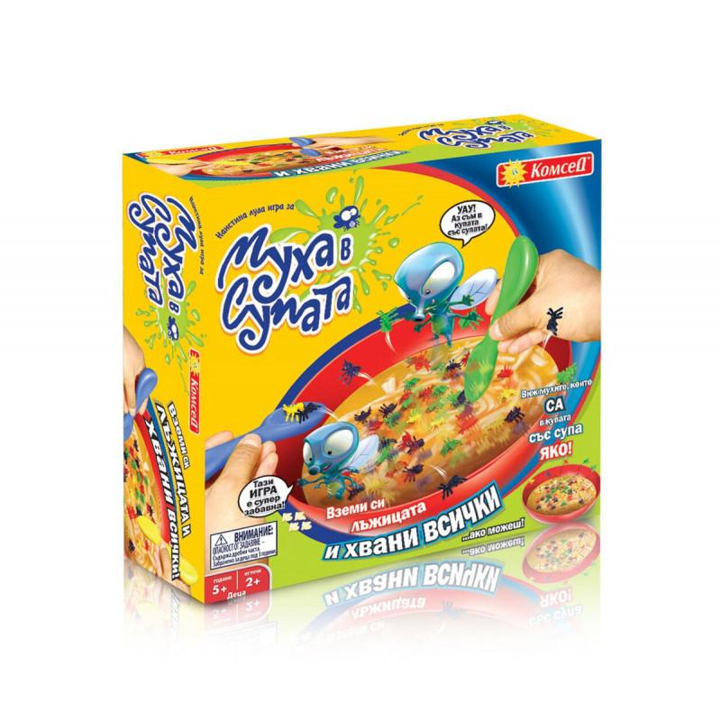 Забавна игра Муха в супата  6018