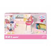 Бейби борн - столче за хранене за кукла Zapf Creation 6081