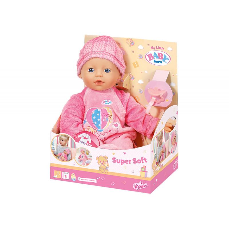 Бейби борн - моята малка кукла с меко тяло  6085