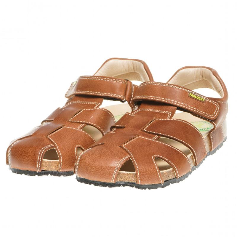 Кожени сандали за момче  60877