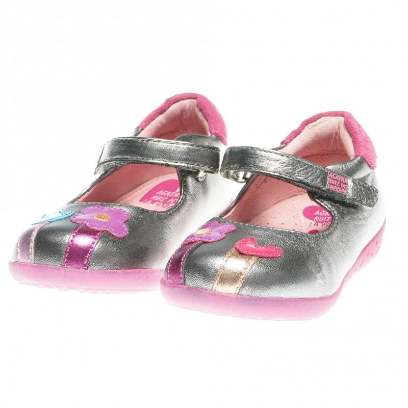 Обувки балеринки за момиче с цветя  60927