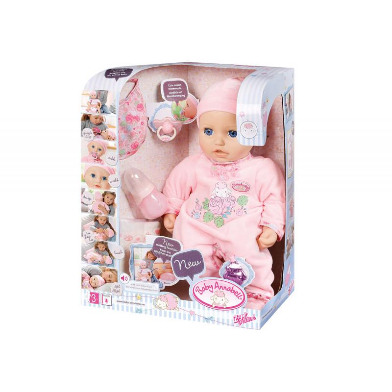 Baby annabell - интерактивна кукла 43 см  6116
